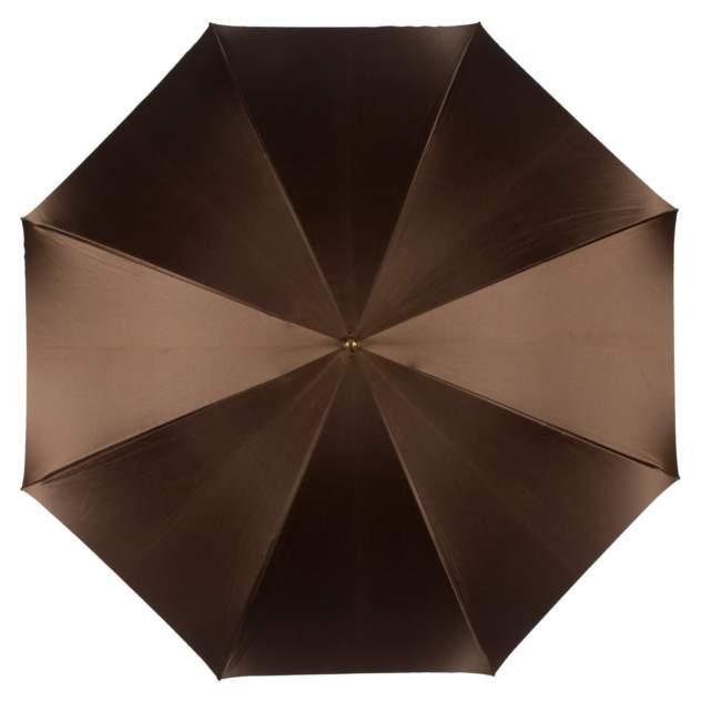 Зонт-трость женский механический Pasotti 3126 коричневый/бежевый