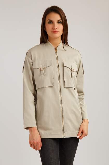 Куртка Finn Flare B19-12024, бежевый