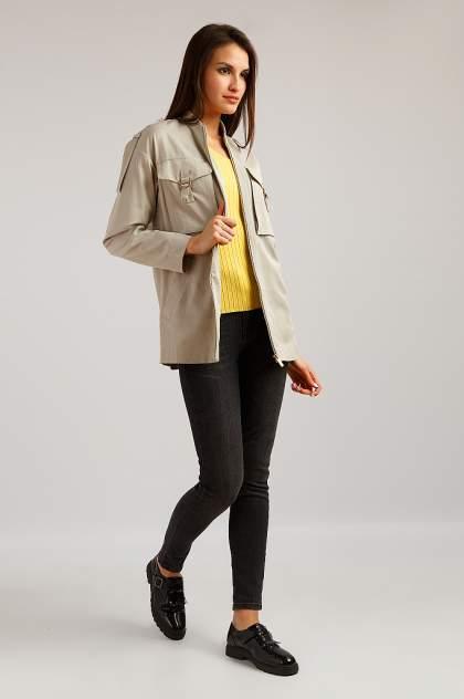 Куртка женская Finn-Flare B19-12024 бежевая 2XL