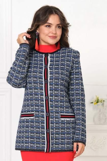 Жакет женский Текстильная Мануфактура Д 2191 синий 56 RU