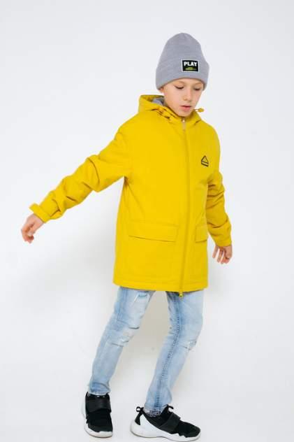 Куртка детская CROCKID, цв. желтый