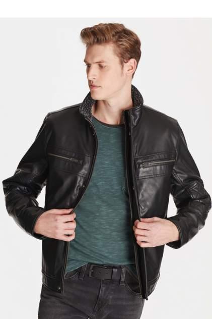Кожаная куртка мужская Mavi 010236-900 черная S