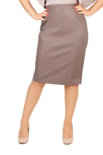 Женская юбка LAVIRA ЮБКА_КОЖА/КОФЕСМОЛ, коричневый
