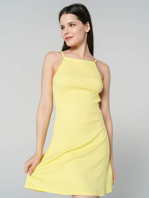 Платье женское ТВОЕ 81301 желтое S