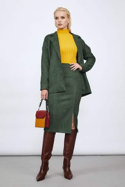 Женский костюм AVEMOD AV 1019, зеленый