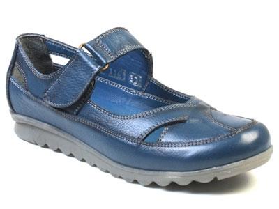 Сандалии женские Airbox 137142 синие 36 RU