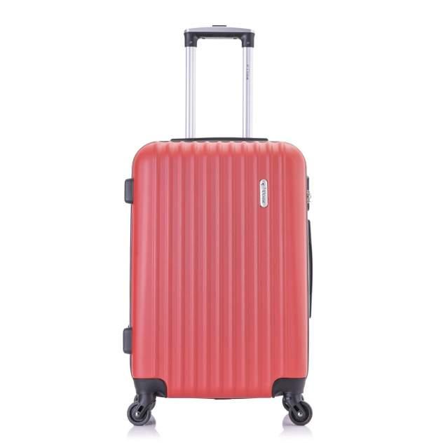 Чемодан L'case Krabi Red (красный) M (25*42*63)