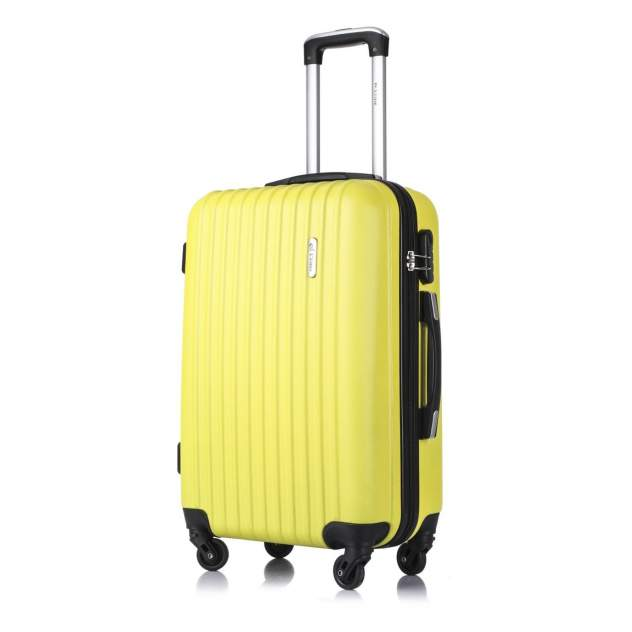 Чемодан L'Case Krabi, желтый