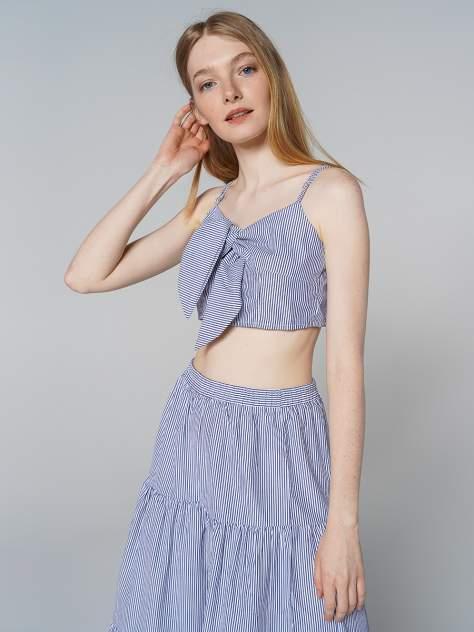 Блуза женская ТВОЕ A8061 синяя M