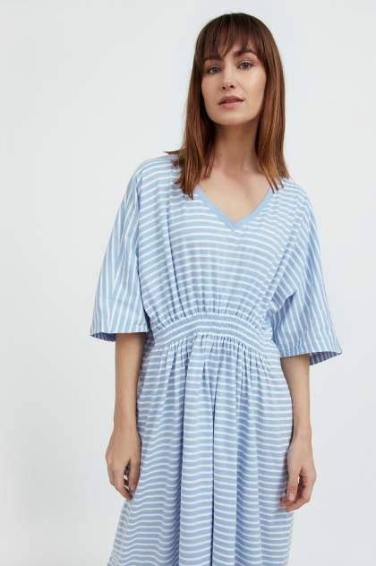 Женское платье Finn Flare S21-14072, голубой