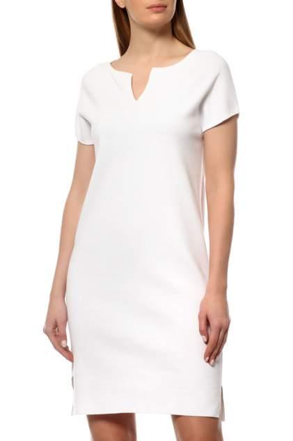 Платье женское Cruciani CD21.230 белое 38 IT