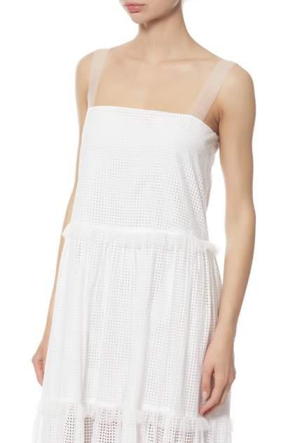 Платье женское Veronique Branquinho VPG417AVG105B010 белое 38 IT
