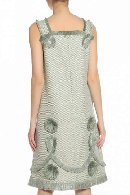 Платье женское Alena Akhmadullina 1117.5D417/C950 зеленое 38