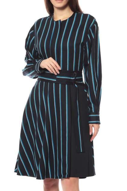 Платье женское SPORTMAX 623-SP22261083 голубое 38 IT