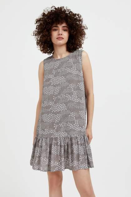 Женское платье Finn Flare S21-120100, коричневый