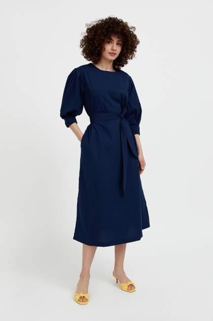 Женское платье Finn Flare S21-11052, синий