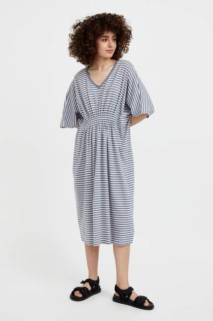 Женское платье Finn Flare S21-14072, серый