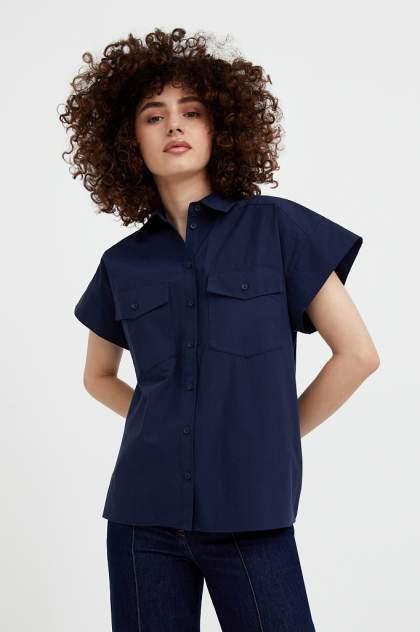 Женская блуза Finn Flare S21-11082, синий