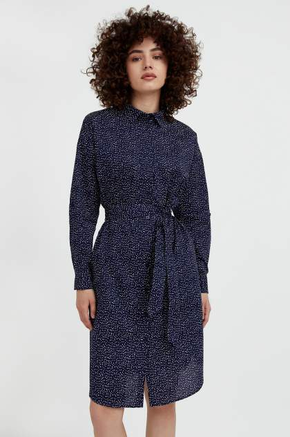Женское платье Finn Flare S21-12043, синий