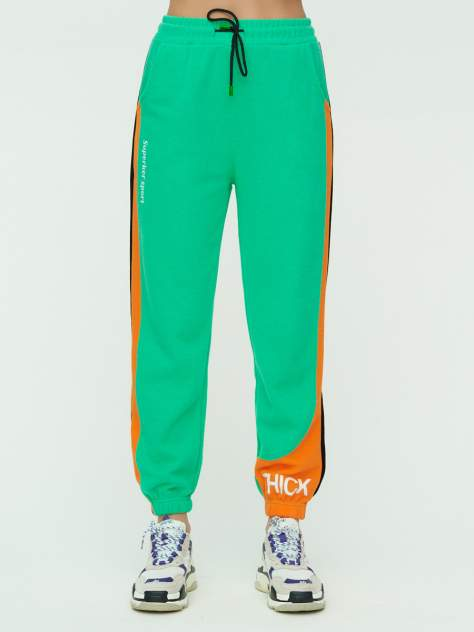 Штаны джоггеры женские 1309Z зеленый 46