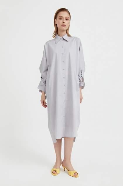 Женское платье Finn Flare S21-11039, коричневый