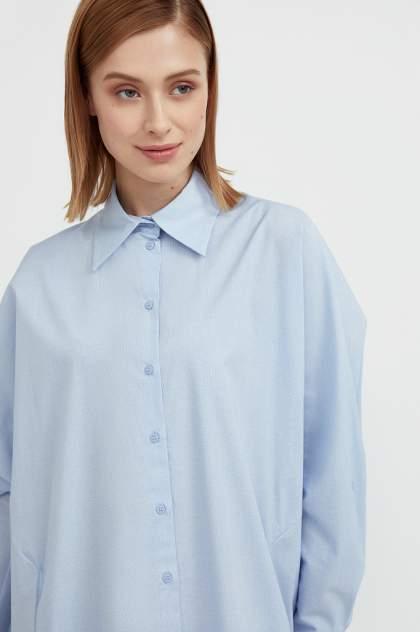 Женское платье Finn Flare S21-11039, голубой