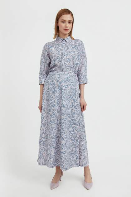 Женская юбка Finn Flare S21-14083, голубой