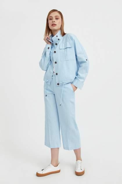 Женские брюки Finn Flare S21-14015, голубой