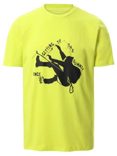 Футболка The North Face Foundation Graphic T-Shirt Sleeve Sulphur Spring Green M
