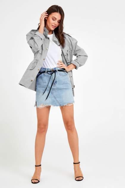 Куртка женская Tom Farr T4F W9605 серая 46