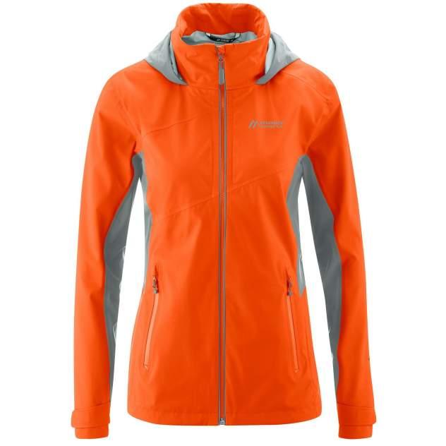 Куртка Maier Tangstad W, оранжевый, серый