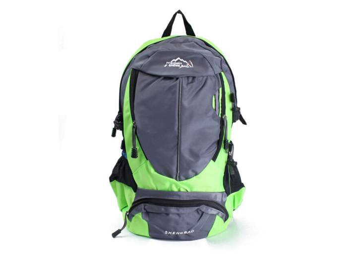Рюкзак школьный URM водонепроницаемый, зеленый, L00035