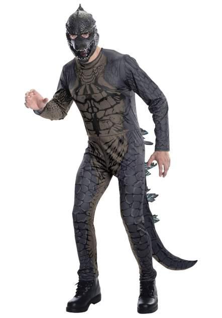 Карнавальный костюм Rubies Годзилла, цв. серый р.176
