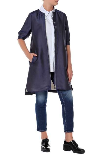 Платье женское SPORTMAX 22211187/007 синее 38 IT