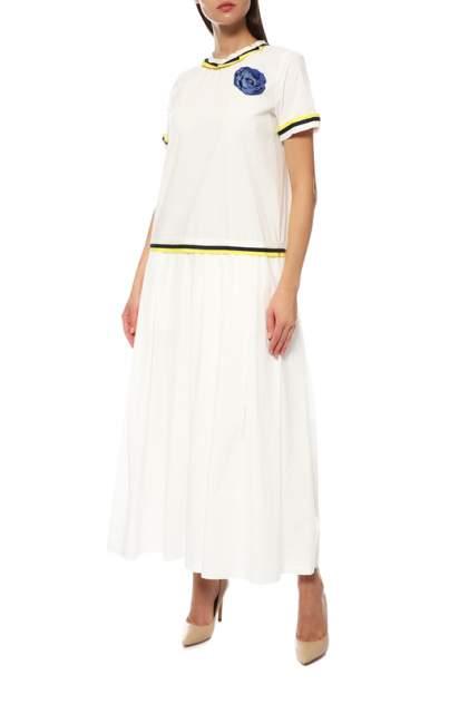 Платье женское Ballantyne MLD080/10156 белое 38 IT