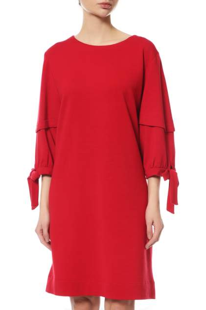 Платье женское Weill 195033/7052C красное 38 IT