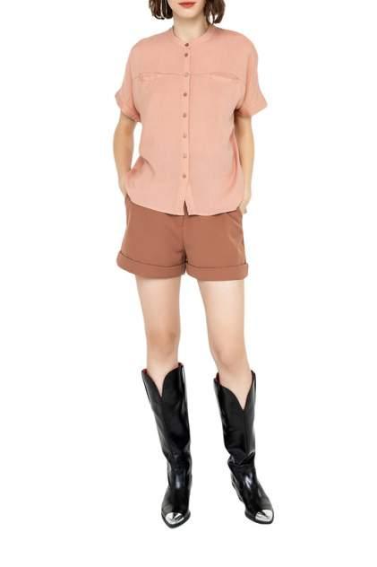 Блуза женская befree 2021121302 бежевая S