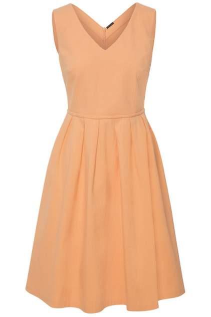 Платье женское Apart 70092 оранжевое 38 DE