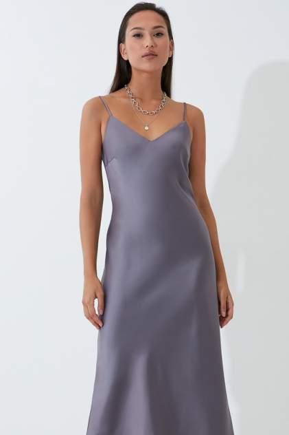 Платье-комбинация женское ZARINA 422000502 серое 92