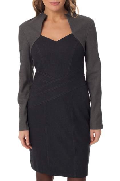 Платье женское Gloss 19309(02) серое 38 RU