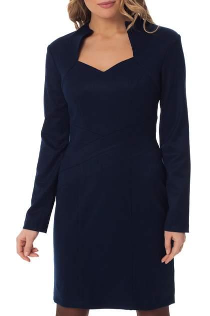 Платье женское Gloss 19309(09) синее 38 RU