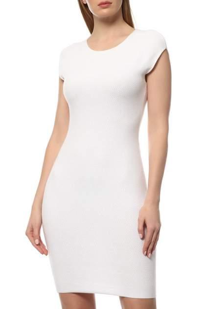 Платье женское Cruciani CD21.263 белое 40 IT