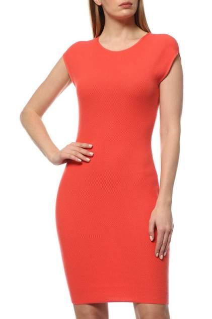 Платье женское Cruciani CD21.263 оранжевое 40 IT