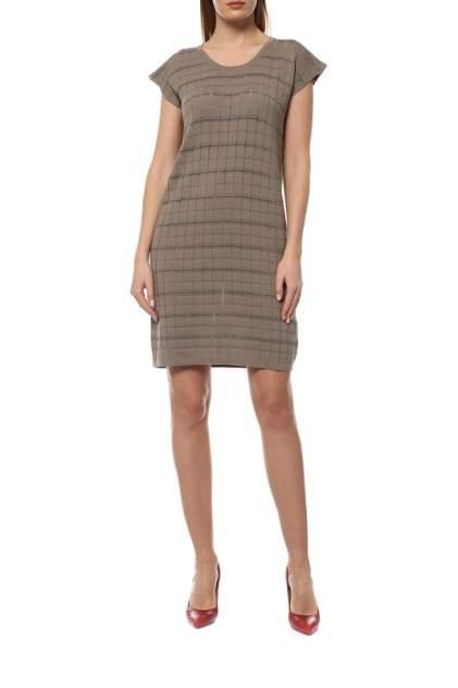 Платье женское Cruciani CD21.283 бежевое 40 IT