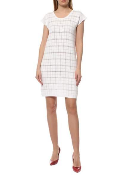 Платье женское Cruciani CD21.283 белое 40 IT
