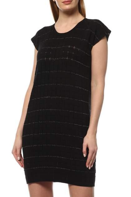 Платье женское Cruciani CD21.283 черное 40 IT