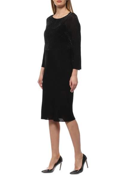 Платье женское Cruciani CD21.412 черное 40 IT