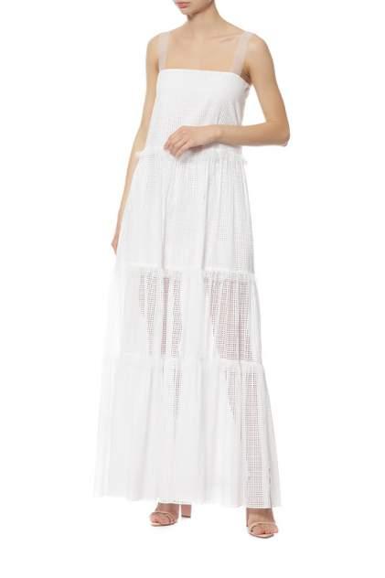 Платье женское Veronique Branquinho VPG417AVG105B010 белое 40 IT