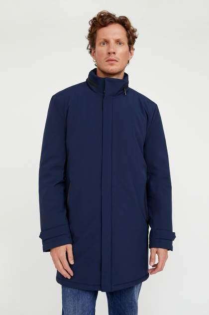 Пальто мужское Finn Flare A20-21007 синее 48