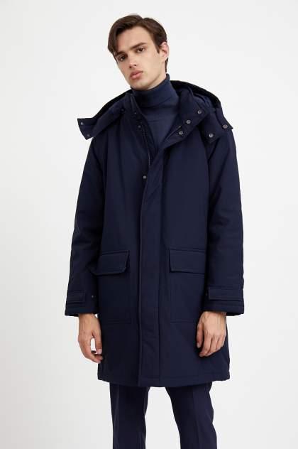 Пальто мужское Finn Flare A20-42027 синее 46